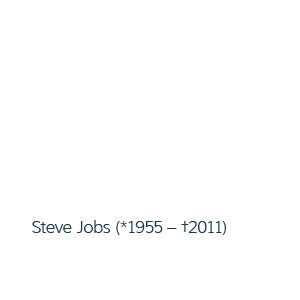 Steve Jobs – Buttons ablecken
